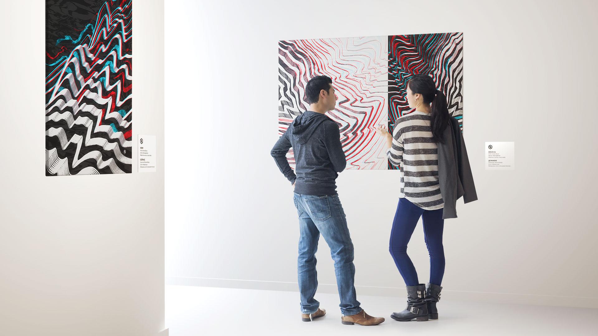 New Generation Art / neurogames / paintings by Oxana Bayra