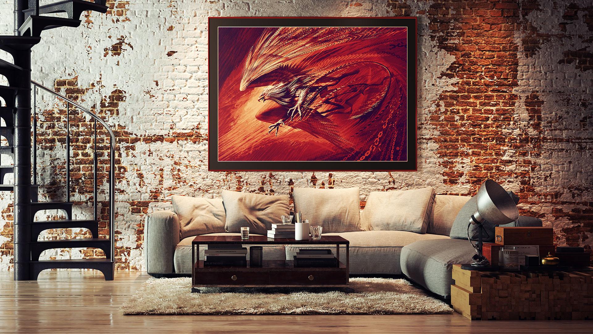 Ярость, Мистические звери, художник Оксана Байра